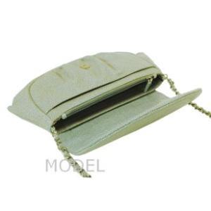 シャネル CHANEL バッグ 財布 チェーンウォレット チェーンバッグ ハーフムーン A40033|model|05