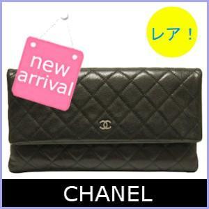 シャネル CHANEL バッグ クラッチバッグ ココマーク シルバー 黒/ブラック A69391|model