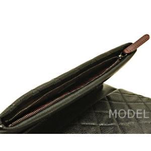 シャネル CHANEL バッグ クラッチバッグ ココマーク シルバー 黒/ブラック A69391|model|05