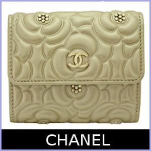 3860f07844b9 シャネル CHANEL 財布 カメリア 限定モデル 三つ折り財布 A82548 :CHANEL ...