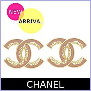 b5e5d49b70a1 シャネル CHANEL ピアス アクセサリー 新作 アンティーク ピンク×ゴールド ピアス A61453 model ...