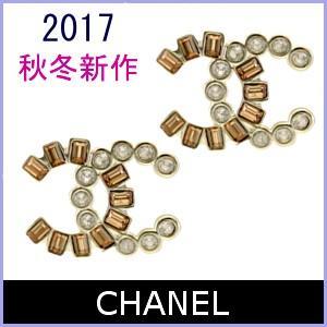シャネル CHANEL ピアス 2017 秋冬 新作 ココマーク アクセサリー A96734|model