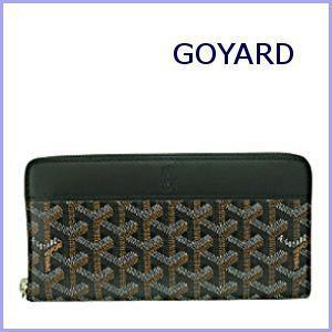 ゴヤール GOYARD 財布 サイフ さいふ メンズ財布 ラウンドファスナー長財布 ブラック×ブラック|model