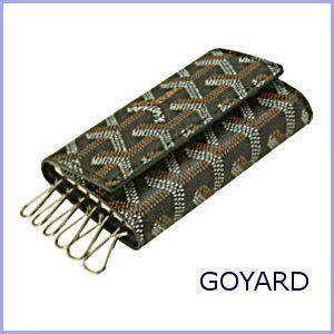 ゴヤール GOYARD キーケース ブラック×ブラック|model