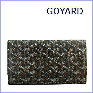 ゴヤール GOYARD 財布 サイフ さいふ 長財布 ブラック×ブラック|model