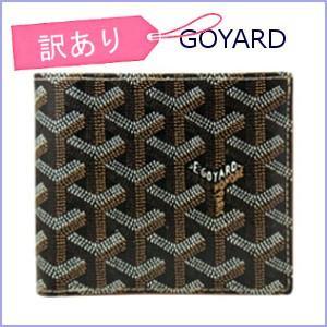 ゴヤール GOYARD 財布 メンズ 二つ折り財布 小銭入れ付き FLORENTIN ブラック×ブラック 【訳あり】|model