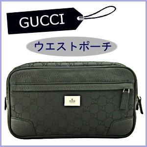グッチ GUCCI バッグ メンズ ウエストバッグ ウエストポーチ ヒップバッグ 黒/ブラック 336672 アウトレット model