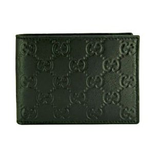グッチ GUCCI 財布 メンズ財布 二つ折り グッチシマ 黒/ブラック アウトレット 143384|model|02