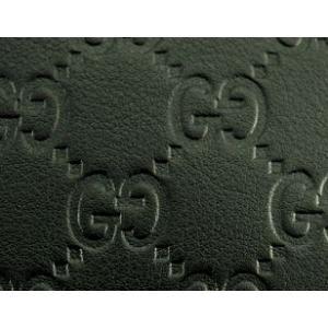グッチ GUCCI 財布 メンズ財布 二つ折り グッチシマ 黒/ブラック アウトレット 143384|model|04