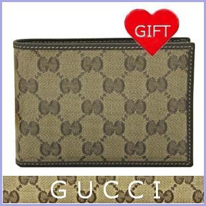 グッチ GUCCI メンズ 財布二つ折り GGクリスタル アウトレット 292534|model