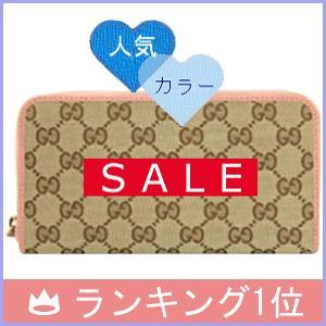 グッチ GUCCI 財布 レディース 長財布 GGキャンバス×ピンク アウトレット 363423|model