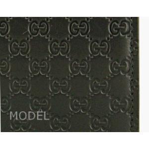 グッチ GUCCI 財布 メンズ 二つ折り財布 グッチシマ 黒/ブラック アウトレット 150413|model|03