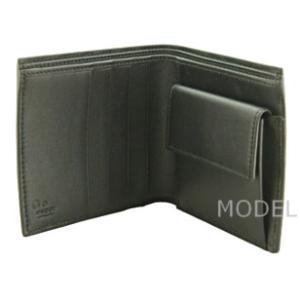 グッチ GUCCI 財布 メンズ 二つ折り財布 グッチシマ 黒/ブラック アウトレット 150413|model|04