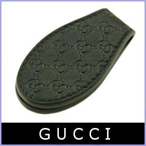 グッチ GUCCI マネークリップ メンズ マイクログッチシマ 黒/ブラック アウトレット 199928|model