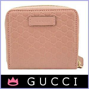 グッチ GUCCI 財布 二つ折り財布 ピンク アウトレット 449395|model