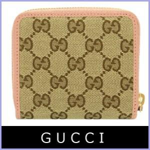 グッチ GUCCI 財布 二つ折り財布 ピンク アウトレット 346056|model