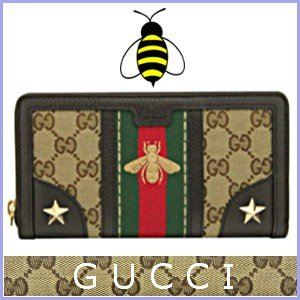 グッチ GUCCI 財布 レディース 長財布 蜂 スタースタッズ アウトレット 406754|model