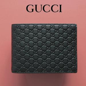 グッチ GUCCI 財布 メンズ 二つ折り財布 グッチシマ ...