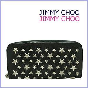 ジミーチュウ JIMMY CHOO 財布 サイフ さいふ FILIPA・スタースタッズ ラウンドファスナー長財布 パテント|model