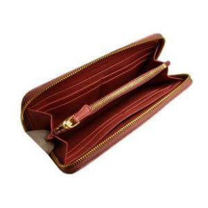 miumiu ミュウミュウ 財布 サイフ さいふ MIUMIU 財布 長財布 ラウンドファスナー アンティークピンク  5M0506|model|03