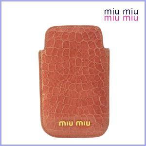 miu miu ミュウミュウ iPhone ケース アイフォンケース MIUMIU 2011 新作|model