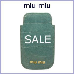 ミュウミュウ miu miu iPHONEケース MIUMIU アイフォンケース 5ARE42 アウトレット|model