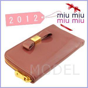 ミュウミュウ miu miu MIUMIU iPhoneケース リボン ピンク 新作 5ARE99|model