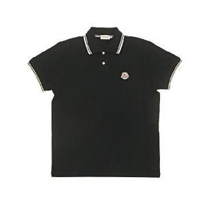 モンクレールメンズポロシャツ 黒/ブラック サイズ M 83043 アウトレット |model