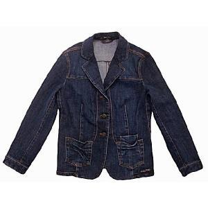 ミュウミュウ miumiu レディース デニムジャケット サイズ40(L) アウトレット|model