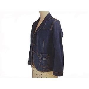 ミュウミュウ miumiu レディース デニムジャケット サイズ40(L) アウトレット|model|02