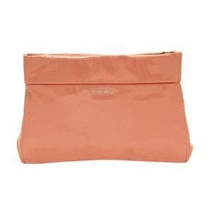 ミュウミュウ バッグ クラッチバッグ ピンク リボン RP0253 アウトレット|model