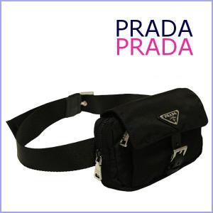 プラダ PRADA バッグ メンズ ウエストポーチ  PRADA バッグ BM0017 アウトレット model