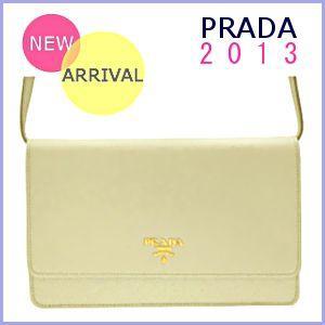 プラダ PRADA バッグ 新作 2013 春夏 ショルダーウォレット 1M1361|model