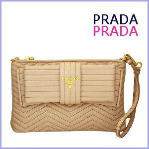 プラダ PRADA ポーチ セカンドバッグ リボン 1N1586 アウトレット model