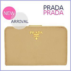 プラダ PRADA 財布 さいふ サイフ レディース 二つ折り財布 サフィアーノ 1ML225 アウトレット|model