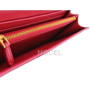 プラダ 財布 リボン ピンク レディース 長財布 人気 1M1132 アウトレット|model|05
