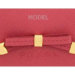 プラダ 財布 リボン ピンク レディース 長財布 人気 1M1132 アウトレット|model|06