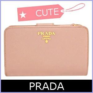 プラダ PRADA 財布 レディース 二つ折り財布 サフィア...