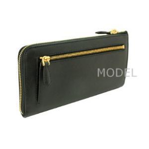 プラダ 財布 レディース リボン L字ファスナー 長財布 サフィアーノ 1ML183 アウトレット|model|03