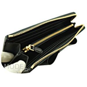 プラダ 財布 レディース リボン L字ファスナー 長財布 サフィアーノ 1ML183 アウトレット|model|04