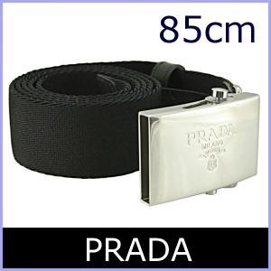 8423d12c7af4 プラダ PRADA ベルト メンズ 黒/ブラック アウトレット サイズ85 2CN010