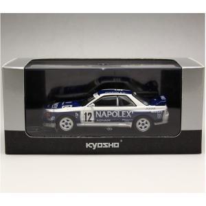 1/43 京商 ミニカー 日産スカイライン NISSAN SKYLINE GT-R (BNR32) NAPOLEX SKYLINE no.12|modelcarshop-ss43