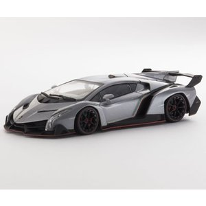 1/43 京商 ミニカー ランボルギーニ ヴェネーノ Lamborghini Veneno Grey/Red|modelcarshop-ss43
