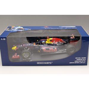 1/18 25%OFF ミニチャンプス ミニカー レッドブルレーシング ショーカー 2012 RED BULL RACING  Showcar 2012  S.Vettel|modelcarshop-ss43