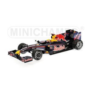1/18 ミニチャンプス ミニカー レッドブルレーシング ルノー チャイナグGP 2009 RED BULL RACING RENAULT RB5 #14 2ND CHINA GP 2009 WITH RAIN TYRES