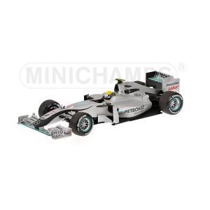 1/18 25%OFF ミニチャンプス ミニカー メルセデスGP #4 ショーカー 2010 MERCEDES GP #4 SHOWCAR 2010|modelcarshop-ss43