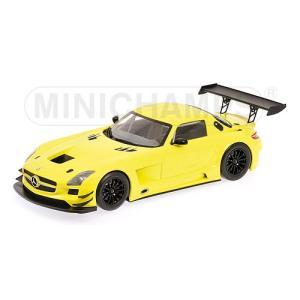 1/18 ミニチャンプス ミニカー メルセデスベンツ SLS AMG MERCEDES-BENZ SLS AMG GT3 STREET YELLOW 2011 L.E. 1000 pcs.|modelcarshop-ss43