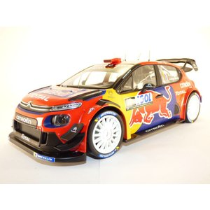 NOREV 1/18 (181647) CITROEN C3 #1 WRC RALLY TOUR DE CORSE 2019 S. OGIER / J.INGRASSIA modelcarshop-ss43