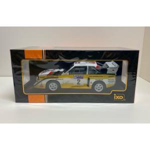 ixo models 1/18 (18RMC048A) Audi Sport Quattro S1 #2 RAC Rally 1985 H.Mikkola / A.Hertz modelcarshop-ss43