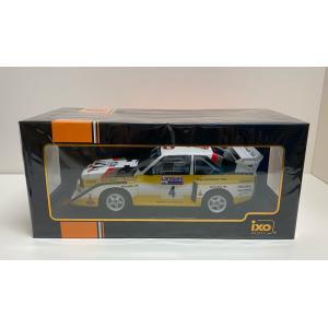 ixo models 1/18 (18RMC048B) Audi Sport Quattro S1 #4 RAC Rally 1985 W.Rohrl / C.Geistdorfer modelcarshop-ss43